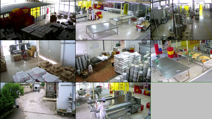 camera giám sát nhà máy